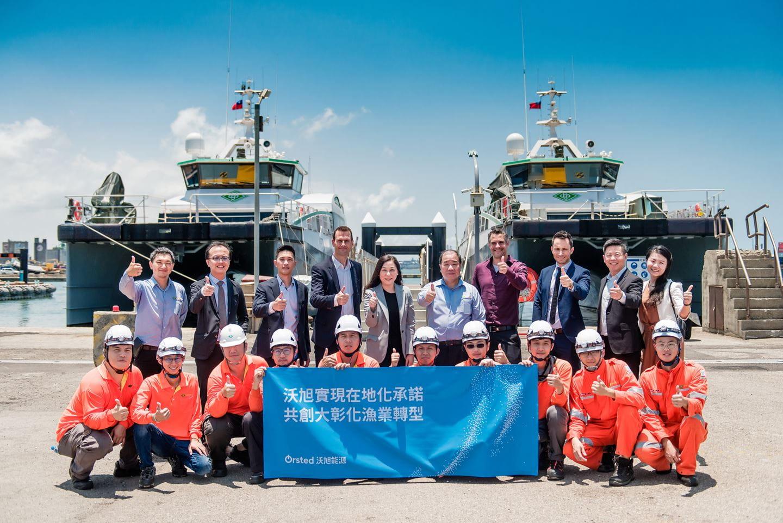 Ørsted Charters CTV Fleet in Taiwan