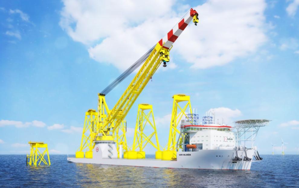 Super-Sized Les Alizés to Rock Red Rock Cranes
