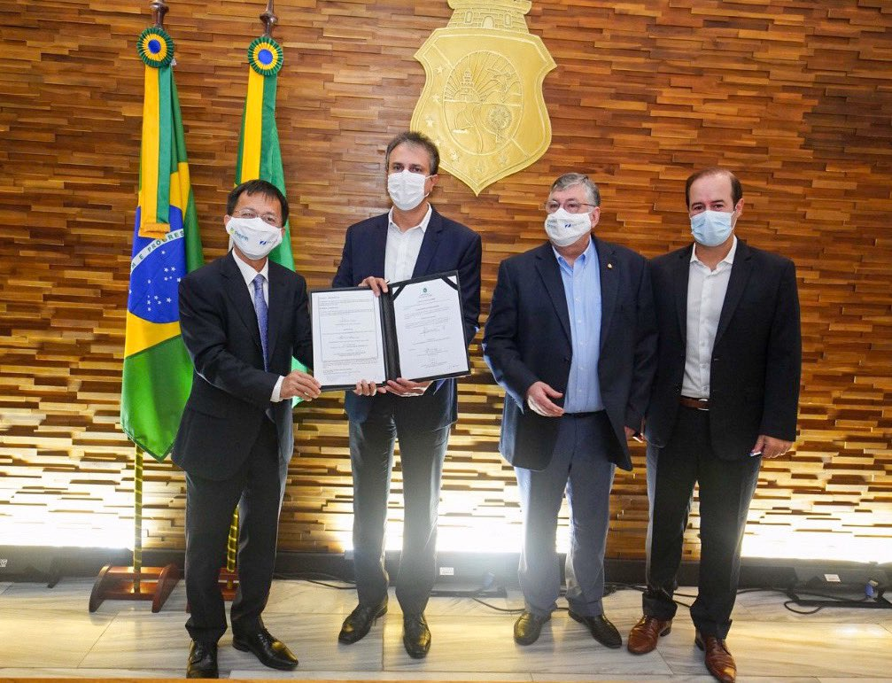 Brazilian State Signs Offshore Wind MoU with Mingyang