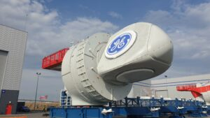 First Nacelle for France's First Offshore Wind Farm Rolls Out