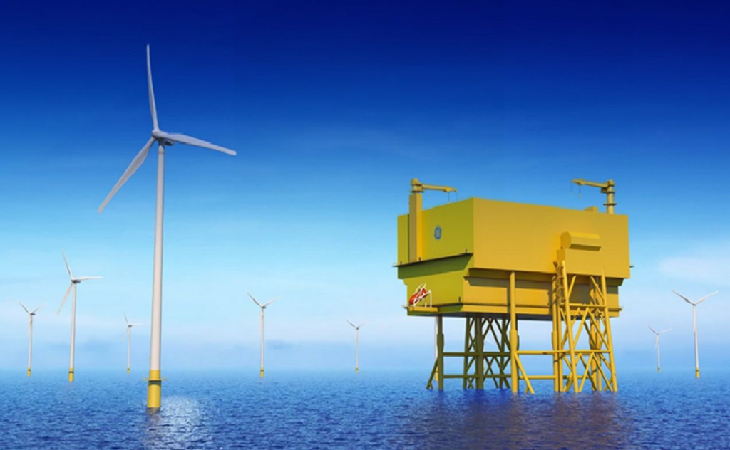 GE Grid Solutions Kit for Saint-Brieuc Offshore Substation