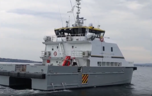 New Manor Wind Farm Service Vessel About to Begin First Job