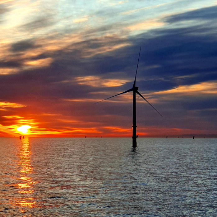 Construction on Dutch Offshore Wind Farm Enters Final Stretch