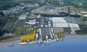 South Korea's SeAH to Build Monopile Factory in UK