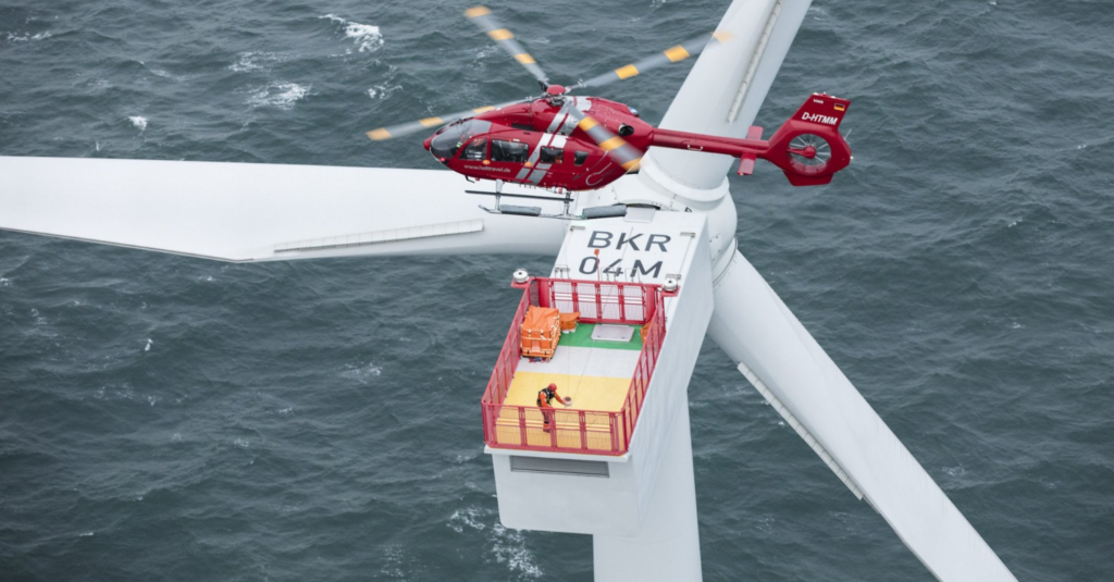 HTM Helicopters Orders Airbus Choppers for Offshore Wind Operations