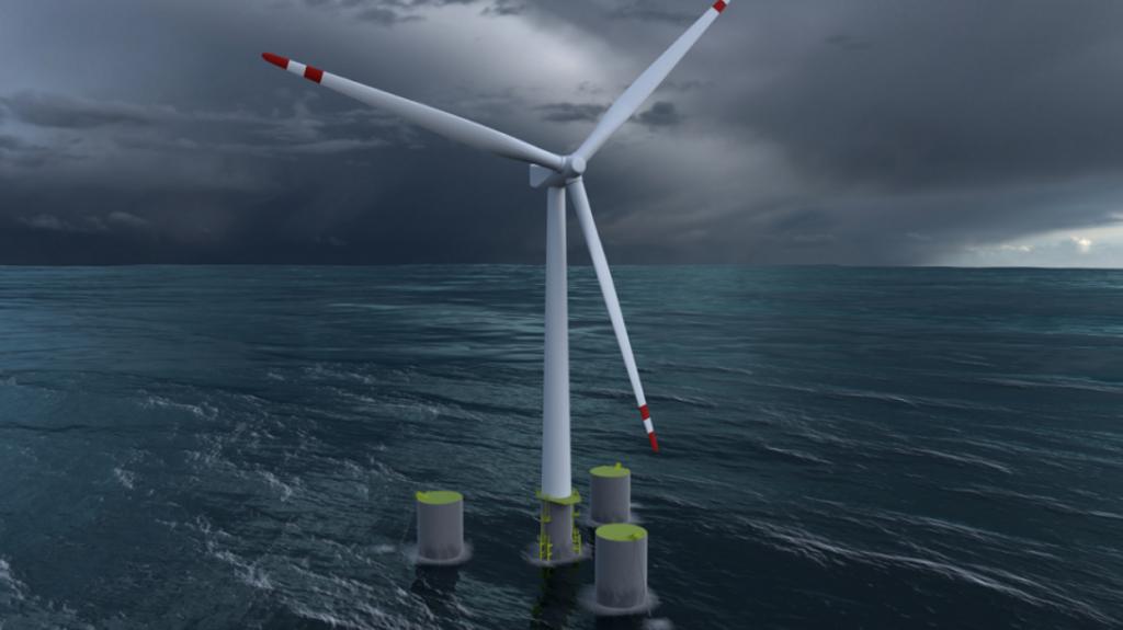 10+ MW Floating Wind Turbine Project Kicks Off