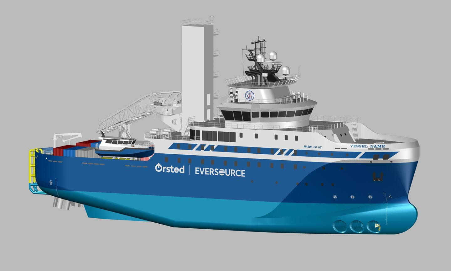 Ørsted and Eversource Order First-Ever Jones Act SOV