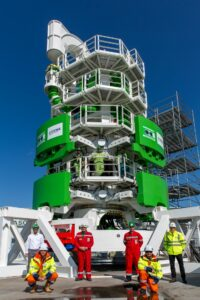 DEME Commissions Subsea Drill for Saint-Nazaire OWF's XL-Monopiles