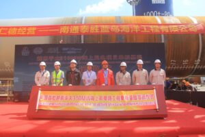Chinese Monopiles Begin Journey to Vietnam's Offshore Wind Project