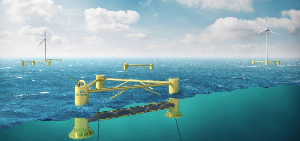 Image rendering Bombora's Floating mWave concept