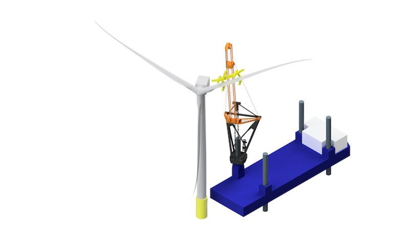 Crane for Next-Gen Turbines Coming to Market
