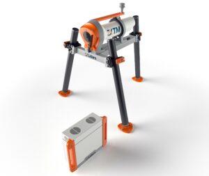 A photo of the ZX TM LiDAR equipment