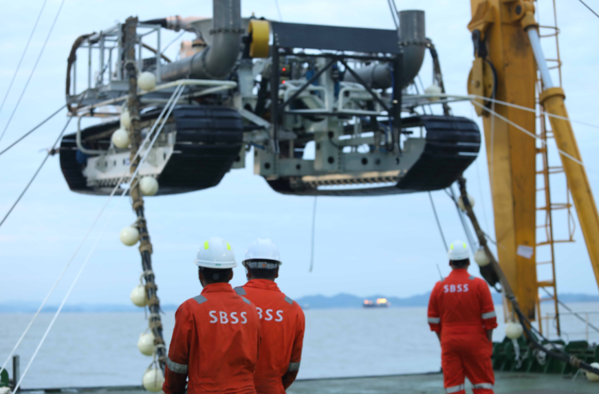 SBSS Targets Offshore Wind with Converted Cable Lay Barge