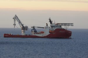 Cable Works at Moray East in Full Swing