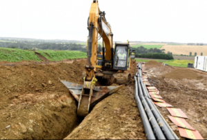 Moray East Onshore Cable Work Done