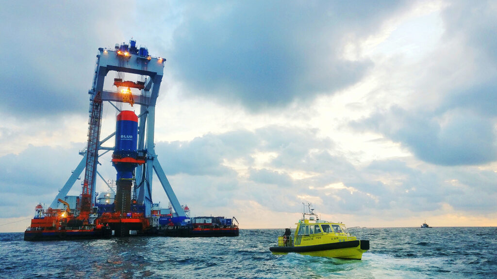 BLUE Piling Technology Enters New Testing Phase