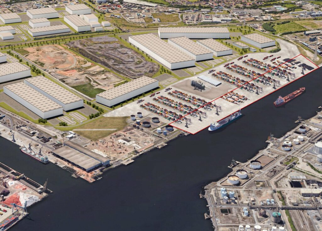 Tees Valley Aims for Offshore Wind Top Spot with GBP 90 Million Quay