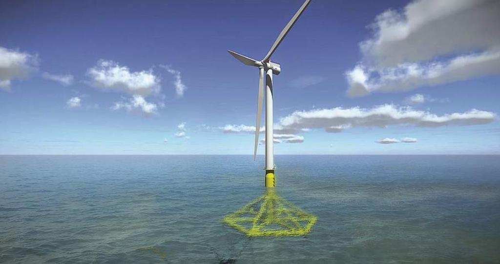 Saipem Presses Ahead with Floating Pendulum Wind Turbine Foundation