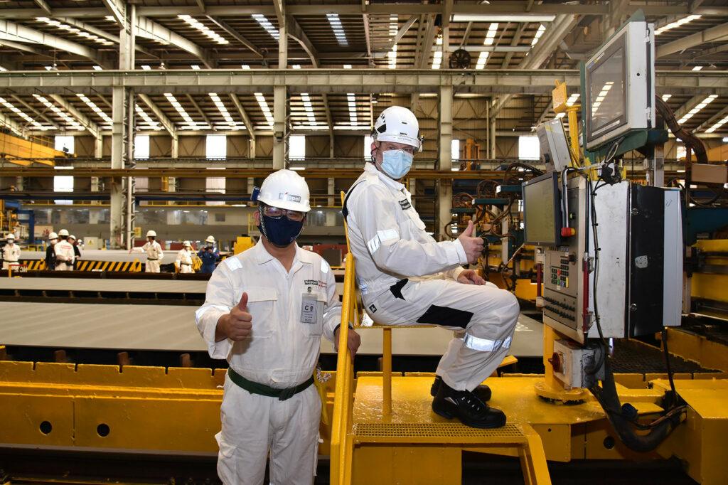 Aibel and Keppel FELS Strike DolWin5 Steel