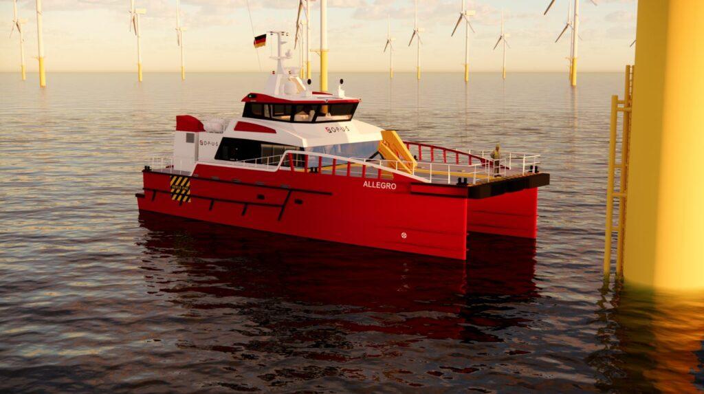 Opus Marine Orders Damen Fast Crew Supplier