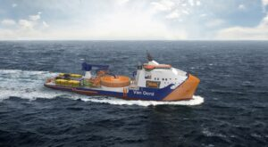 Van Oord Orders Next-Gen Green Cable-Laying Vessel
