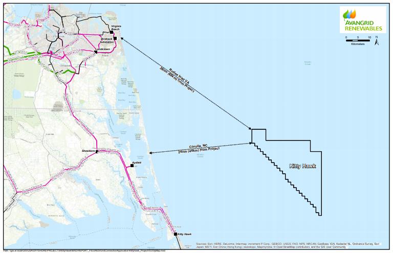 Kitty Hawk vicinity map