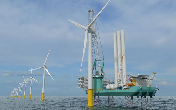Huisman Muscle for OIM Wind's Next-Gen Jack-Up