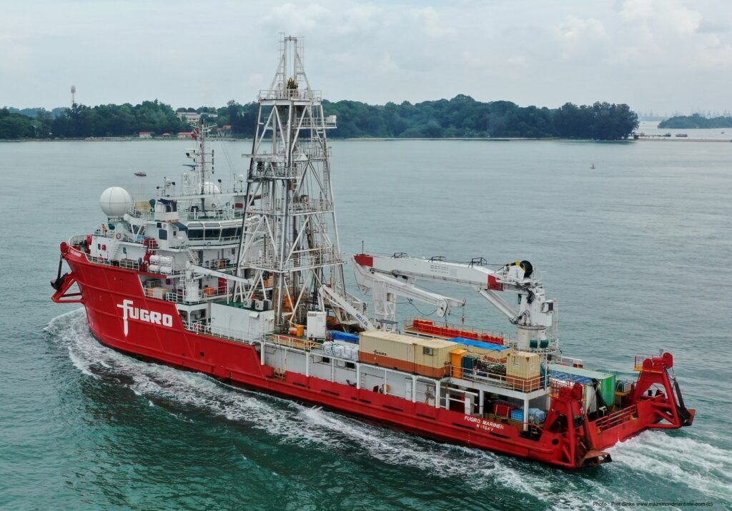 Fugro and NYK Add OYO to Japanese Offshore Wind Team