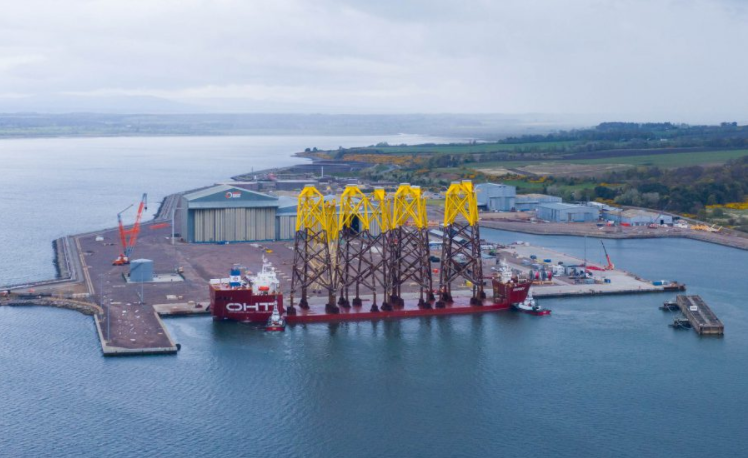 Port of Nigg Making Room for More Offshore Wind
