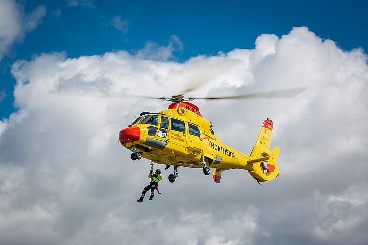 EnBW Picks Rescue Helicopter Provider for North Sea Wind Farms
