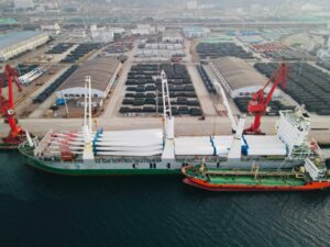 TGP Transporting Chinese Turbine Components to Vietnam