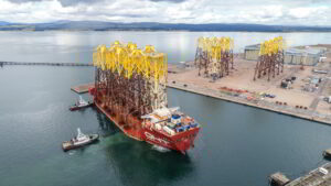 Port of Nigg Chosen for Seagreen OWF Foundation Installation