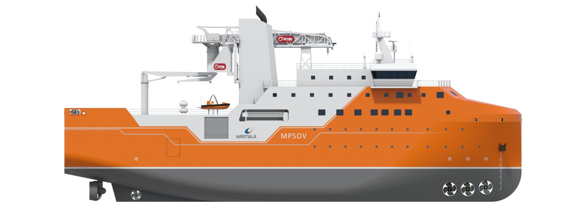 Wärtsilä Designs Multi-Purpose SOV for US Offshore Wind Market