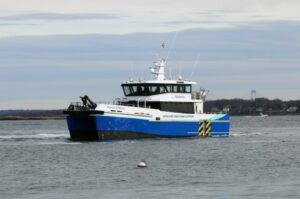 Atlantic Endeavor Working on Coastal Virginia Offshore Wind Project