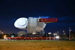 First Nacelle Arrives at Saint-Nazaire OWF Pre-Assembly Site