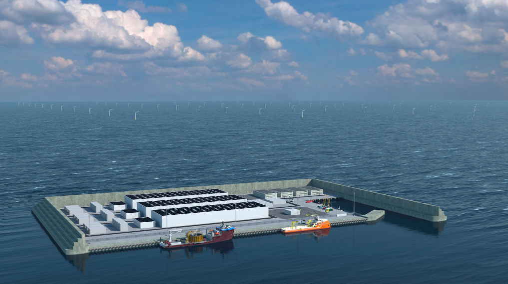 Denmark Starts Energy Island Probes