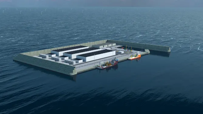 Denmark Seeks Co-Owners of North Sea Energy Island