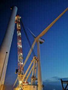 Moray East Wind Turbine Installation Hits Quarter Mark