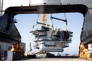 Liebherr Sends Off First Crane Components for OHT Alfa Lift