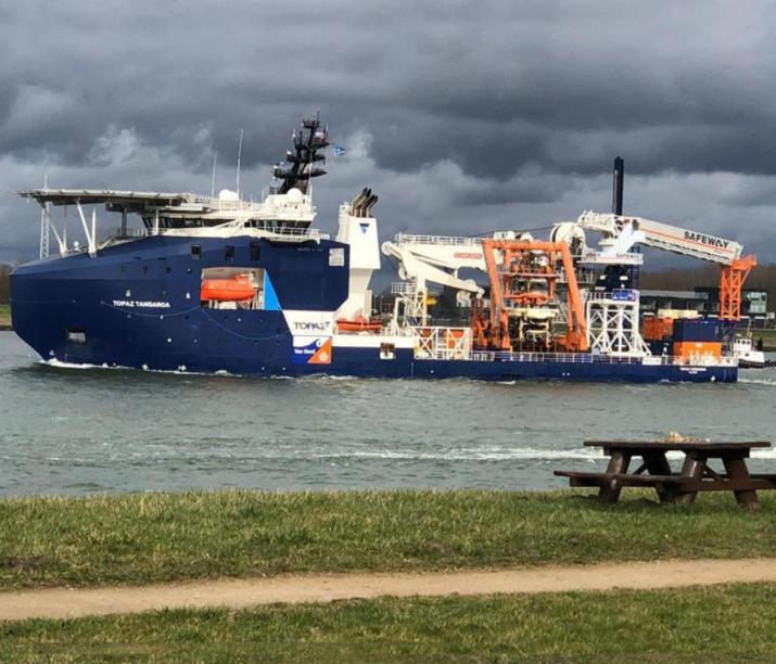 Van Oord Sends Cable Installation Fleet to Taiwan