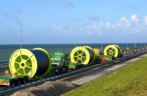 Windpark Fryslân Onshore Cable In Place
