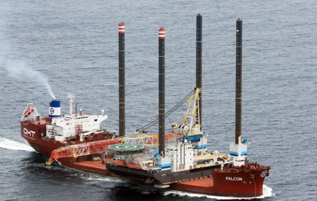 Offshore Wind Keeps OHT Fleet Busy as Jack-Ups Flock to China