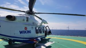 WIKING Helikopter Continues Supporting Sandbank and DanTysk