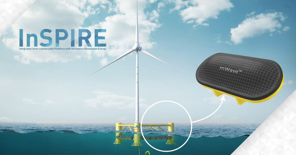 TechnipFMC and Bombora Launch Floating Wave and Wind Project