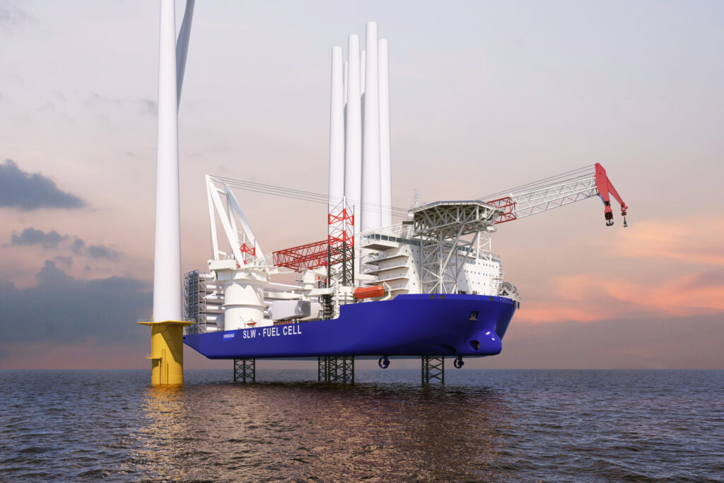 Approval Galore for South Korean Wind Turbine Installation Vessel
