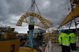 Nexans Aurora Gets Its Cable Laying Equipment