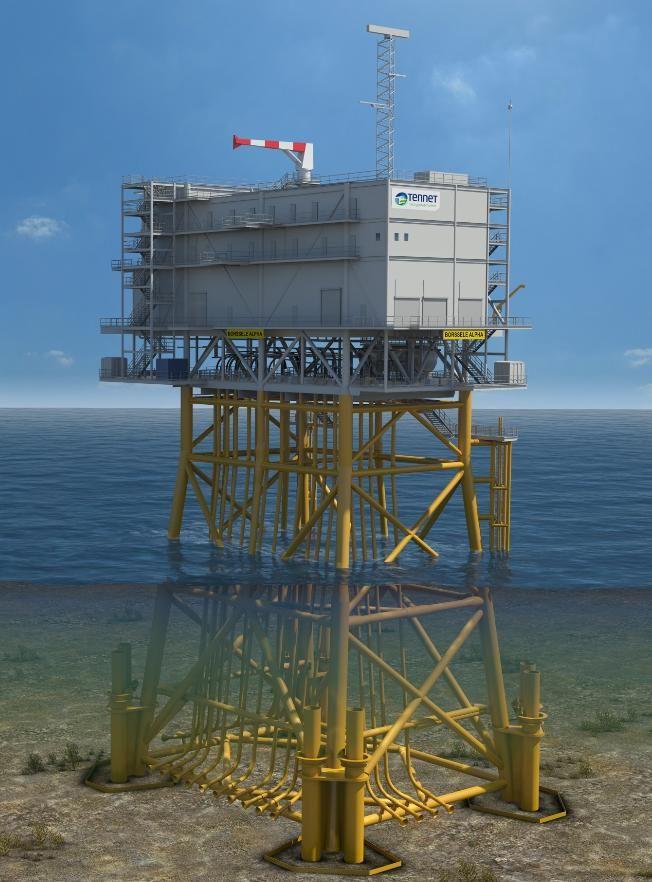 SLPE Design for Hollandse Kust (west Alpha) Offshore Substation