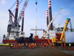 Offshore Construction Starts at Japan's 1st Large-Scale OWF
