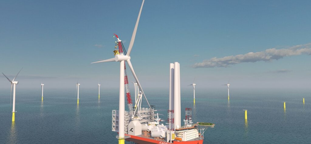 Cadeler to Order Two X-Class Wind Farm Installation Vessels