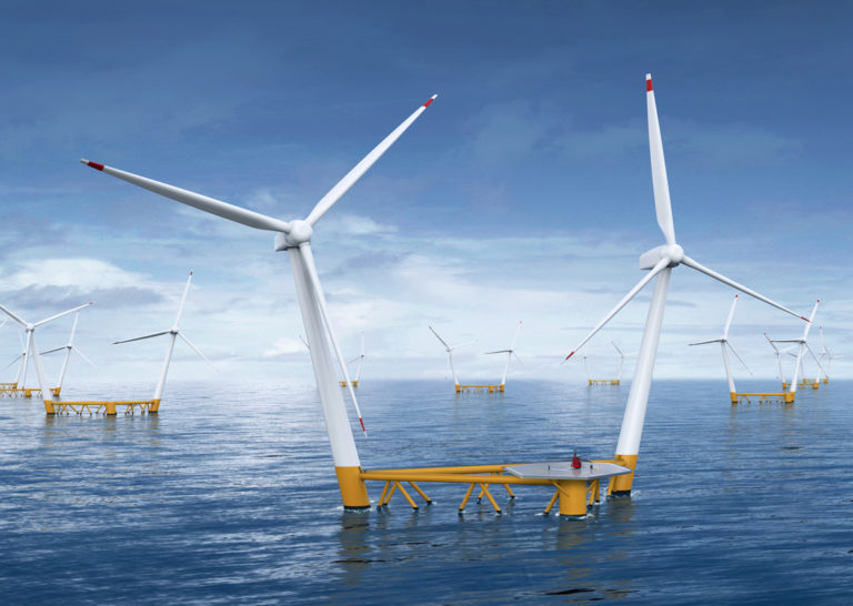Two Turbine Floater to Spin Offshore Norway